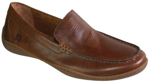 Men's Born, Harmon casual slip on loafer TAN 11 M