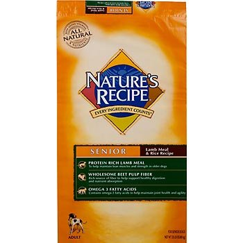 Nature S Recipe Senior Lamb Meal Rice