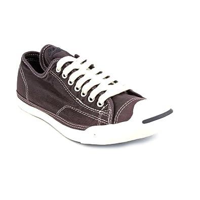 Converse Jack Purcel LP Canvas Shoes in Nine Iron Grey, Size: 8.5 D(M) US Mens / 10.5 B(M) US Womens, Color: Nine Iron Grey