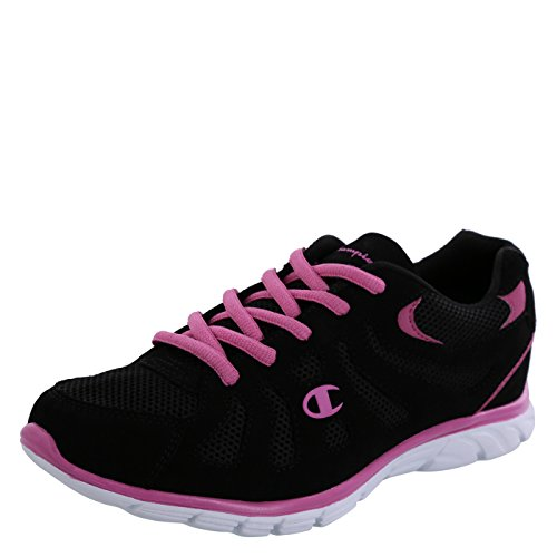 Champion Women's Black/Pink Solstyce Sport Runner 8.5 M (Champion Womens Footwear compare prices)