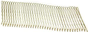 Set of 36 Blonde Kirby Hair Grips 4.5cm long.Brand New.Carded.