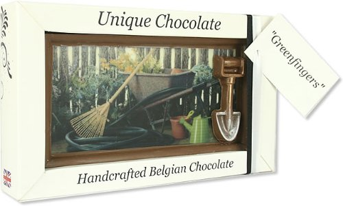 Large 'Green Fingers' Belgian Milk Chocolate