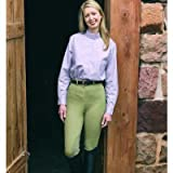 Ladies Cotton FigureFit Riding Breeches