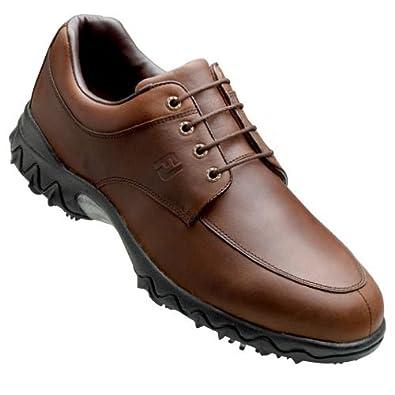Footjoy Contour Series Golf Shoe, Brown, 11.5 Medium