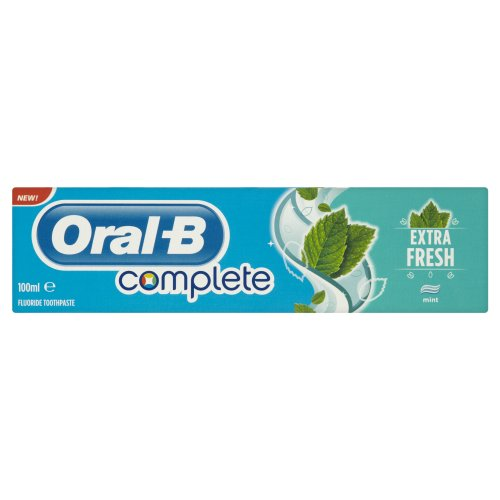 Oral-B Complete Extra Fresh Toothpaste 100 ml (Pack of 4)