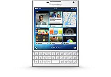 BlackBerry Passport  Smartphone débloqué 4.5 pouces 32 Go Blackberry Blanc (import Allemagne)
