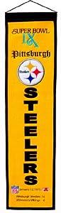 NFL Pittsburgh Steelers Super Bowl IX Banner