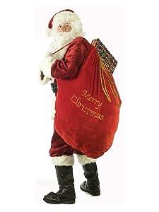 Fun World Costumes Santa Sack, Red/Gold, 30