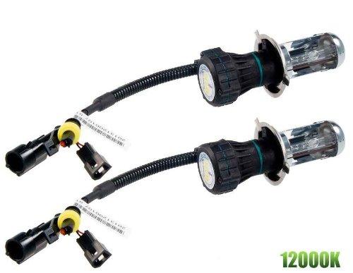 H4 35W 12000K Hid H/L Bi-Xenon Replacement Car Lamp