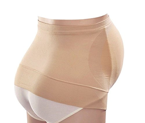 Simplicity Durable Maternity Belly Band In Soft, Comfy Stretch Fibers, Xl