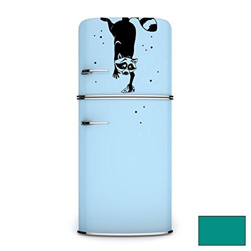 adesivo-da-parete-frigorifero-adesivo-murale-adesivi-punti-m1960-procione-turchese-xxl-44cm-breit-x-