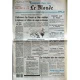 MONDE (LE) [No 14473] du 10/08/1991 - L'ENLEVEMENT D'UN FRANCAIS AU LIBAN COMPLIQUE LE REGLEMENT DE L'AFFAIRE...
