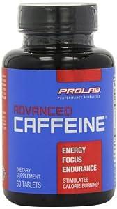 ProLab Advanced Caffeine Tablets, 60-Count