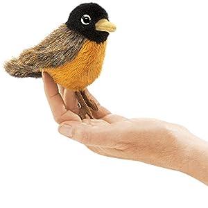 Folkmanis Mini Robin Finger Puppet from Folkmanis Puppets