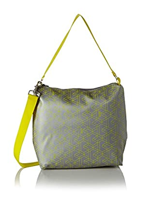 BREE Collection Bolso asa al hombro (Gris / Amarillo)