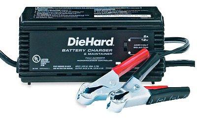 Diehard Motorcycle Battery For A Honda Goldwing