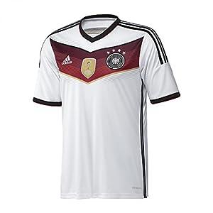 adidas Kinder Trikot DFB Deutschland Home 4-Sterne, Mehrfarbig, 140, M35023