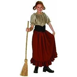 Child's Renaissance Peasant Girl Halloween Costume (Size: Large 12-14)