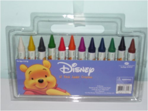 Disney 12 Pack Jumbo Crayons - Buy Disney 12 Pack Jumbo Crayons - Purchase Disney 12 Pack Jumbo Crayons (Disney, Toys & Games,Categories,Arts & Crafts,Crayons)