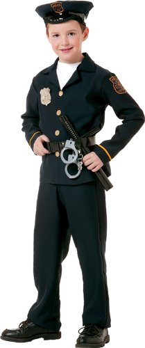 Paper Magic Group Child's Costume, Policeman, Small