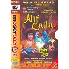 Alif Laila: 1001 Nights - Vol. 1 to 20 (Episodes - 1 to 143)