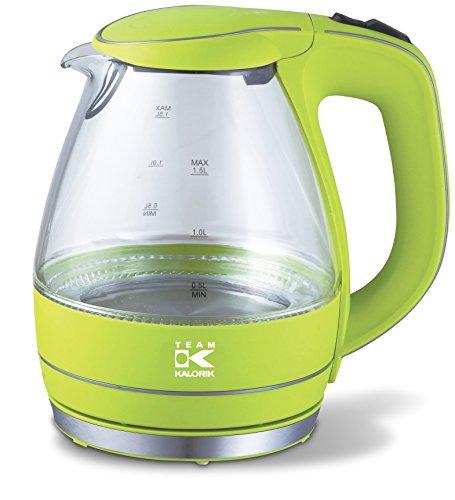 TKG JK 1022 AG Design-Glaswasserkocher, 2200 W, 1,5 L