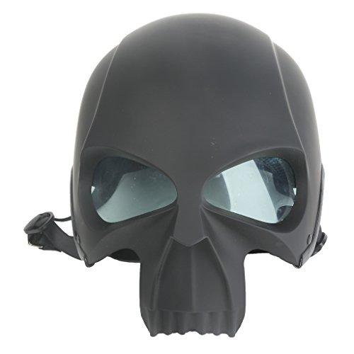XFMT 3D Skull Skeleton Matte Black Half Motorcycle Cruiser Chopper Biker Shortly Helmet S