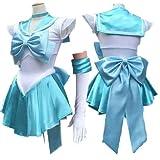Sailor Moon Mercury full set Cosplay Costume Customized Any Size