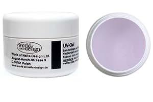 World of Nails-Design 1 Phasen UV-Gel mittelviskose 30 ml, 1er Pack (1 x 30 ml)