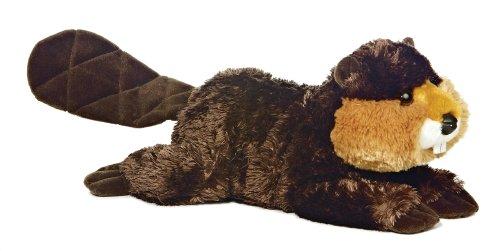 """12"""" """"Beau"""" Beaver Flopsie - 1"""