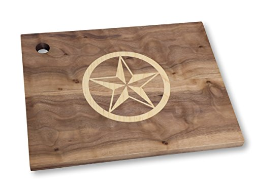 Cutting Board with Texas Star Inlay (Cutting Appliances compare prices)