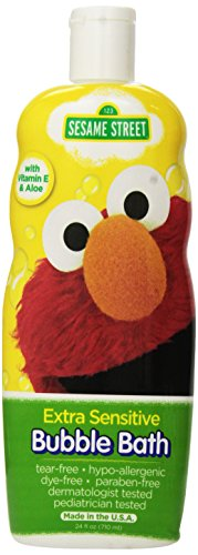 Sesame Street Extra Sensitive Bubble Bath