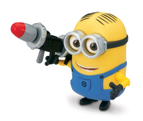 Despicable Me 2 Dave Deluxe Action Figure with Rocket Launcher