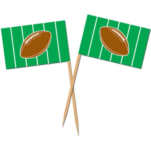 Football Picks 2½in. (50/pkg) Pkg/12