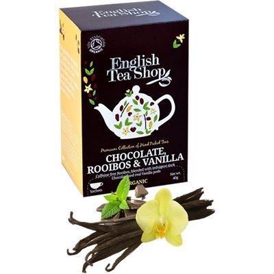 English Tea Shop - Chocolate, Rooibos & Vanilla - 20 Sachet Envelope - 40G (Case Of 6)