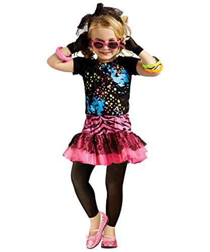 80s Pop Party Baby Costume - Small 4-6
