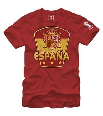 FIFA 2014 World Cup Soccer - Espana Spain - T-Shirt (Medium)