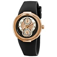 Philip Stein Women's 31-ARG-RBB Active Rose Gold and Black Rubber Strap Watch by Philip Stein