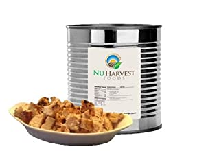 Freeze Dried Diced Turkey - #10 Can - 35 Servings by Nu Harvest Foods