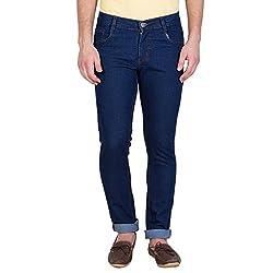 Stylox Slim Fit Dark Blue Jeans