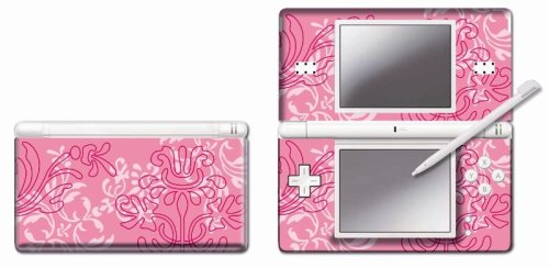 Pebble Entertainment Pink Ornamental Graphic Skin for DS Lite (Nintendo DS)