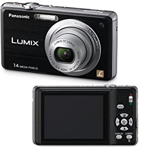 Panasonic Lumix DMC-FH3 14.1 MP Digital Camera with 5x Optical Image Stabilized Zoom and 2.7-Inch LCD (Black)