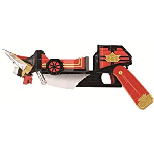 Pow 6945 Power Rangers Deluxe Battle Gear Bullzooka