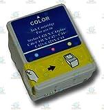 1 Tri Colour Epson Stylus Compatible T037 Ink Cartridge for Epson Stylus C42 Plus Printer