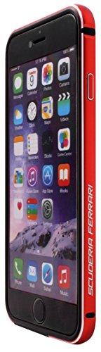 Ferrari Racing Apple iPhone 6 Aluminum TPU Bumper – Red