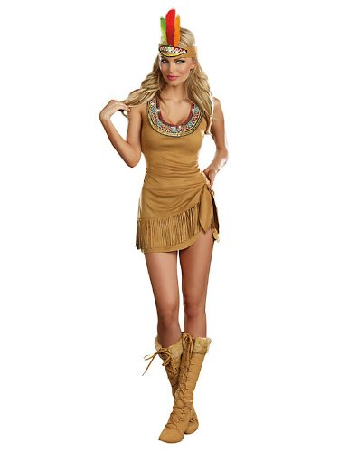 Queen of the Tribe Indian Sexy Adult Costume