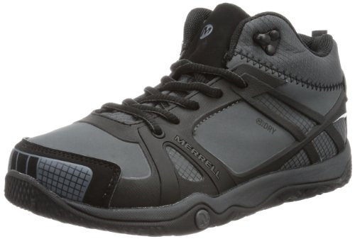 Merrell  PROTERRA MID WTPF KIDS Trekking & Hiking Shoes Boys  Black Schwarz (BLACK) Size: 30