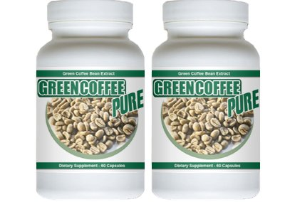 Green Coffee Pure – 120 Capsules – Pure Green Coffee Bean Extract