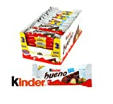 Kinder Bueno Twin Bar Chocolate Case of 10 x 3 Multipacks