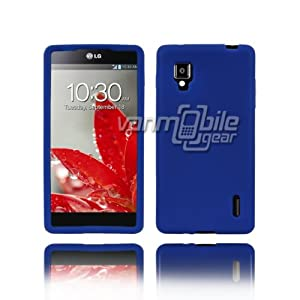 VMG For LG Optimus G LS970 (Sprint Version) Cell Phone Soft Gel Silicone Skin Case Cover - Blue